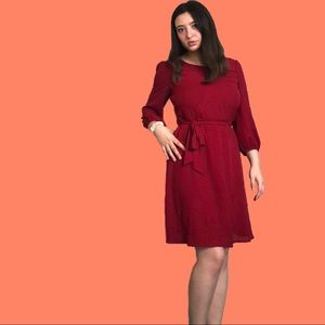 Beautiful Cocolove Red Midi Dress